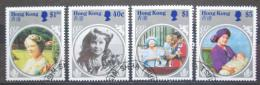 Poštovní známky Hongkong 1985 Královna Matka Mi# 464-67 Kat 8.50€