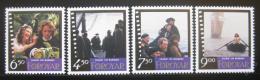 Poštovní známky Faerské ostrovy 1997 Film Barbara Mi# 322-25
