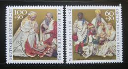 Poštovní známky Nìmecko 1992 Vánoce Mi# 1639-40