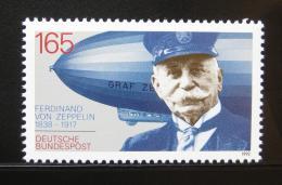 Poštovní známka Nìmecko 1992 Ferdinand Graf von Zeppelin Mi# 1597