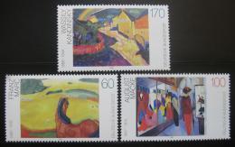 Poštovní známky Nìmecko 1992 Umìní Mi# 1617-19 Kat 5€