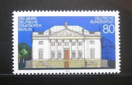 Poštovní známka Nìmecko 1992 Státní opera v Berlínì Mi# 1625