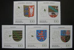 Poštovní známky Nìmecko 1994 Znaky spolkových zemí Mi# 1712-16 Kat 8€