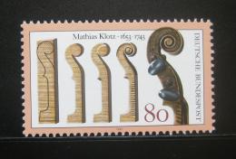 Poštovní známka Nìmecko 1993 Housle, Mathias Klotz Mi# 1688