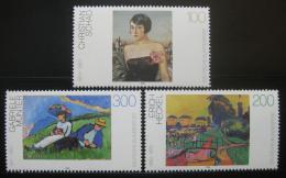 Poštovní známky Nìmecko 1994 Umìní Mi# 1748-50 Kat 6.50€