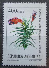 Poštovní známka Argentina 1982 Tillandsia aeranthos Mi# 1605