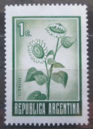 Poštovní známka Argentina 1971 Sluneènice Mi# 1094