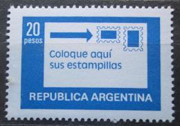 Poštovní známka Argentina 1978 Poštovní služby Mi# 1362