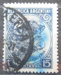 Poštovní známka Argentina 1936 Býk Mi# 419 X