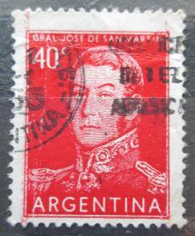 Poštovní známka Argentina 1954 Generál Jose de San Martín Mi# 621 I