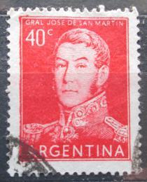 Poštovní známka Argentina 1956 Generál Jose de San Martín Mi# 621 II