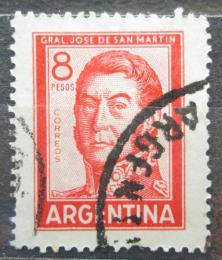 Poštovní známka Argentina 1965 Generál Jose de San Martín Mi# 867