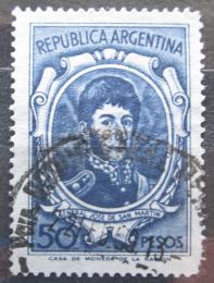 Poštovní známka Argentina 1965 Generál Jose de San Martín Mi# 873