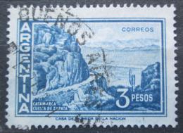 Poštovní známka Argentina 1971 Silnice v horách Mi# 1083
