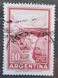 Poštovní známka Argentina 1971 Most Inkù Mendoza Mi# 1084