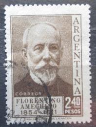 Poštovní známka Argentina 1956 Florentino Ameghino, antropolog Mi# 649