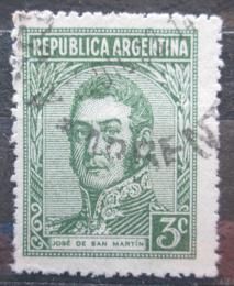 Poštovní známka Argentina 1946 Generál José de San Martín Mi# 405 X