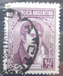 Poštovní známka Argentina 1935 Generál Manuel Belgrano Mi# 399 X