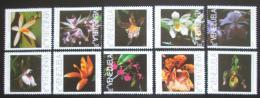 Poštovní známky Venezuela 1997 Orchideje TOP SET Mi# 3074-83 Kat 17€
