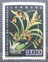 Poštovní známka Venezuela 1962 Oncidium falcipetalum, orchidej Mi# 1440 Kat 7.50€