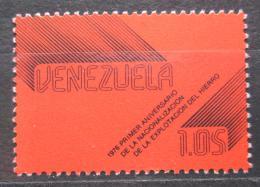 Poštovní známka Venezuela 1977 Zestátnìní prùmyslu oceli Mi# 2072
