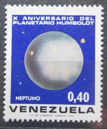 Poštovní známka Venezuela 1973 Planeta Neptun Mi# 1925