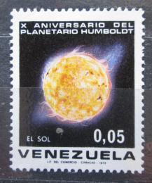 Poštovní známka Venezuela 1973 Slunce Mi# 1917