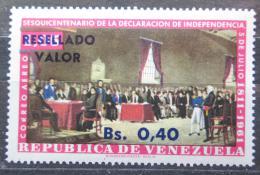 Poštovní známka Venezuela 1965 Vyhlášení nezávislosti pøetisk Mi# 1604
