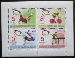 Poštovní známky Guinea-Bissau 2008 LOH Peking Mi# 3688-91