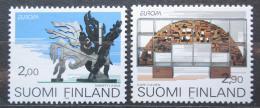 Poštovní známky Finsko 1993 Evropa CEPT, moderní umìní Mi# 1206-07