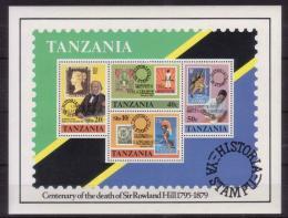 Poštovní známky Tanzánie 1980 Rowland Hill Mi# Block 20
