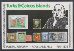Poštovní známka Turks a Caicos 1979 Rowland Hill Mi# Block 17 - zvětšit obrázek