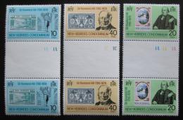 Poštovní známky Nové Hebridy Brit. 1979 Rowland Hill Mi# 531-33 TB