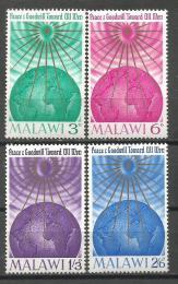 Poštovní známky Malawi 1964 Vánoce Mi# 19-22