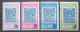 Poštovní známky Malawi 1966 Poštovní služby, 75. výroèí Mi# 52-55