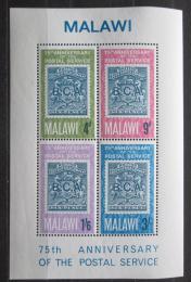 Poštovní známky Malawi 1966 Poštovní služby, 75. výroèí Mi# Block 6 Kat 9€