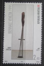 Poštovní známka Chorvatsko 1995 Socha, Mirko Zrinšèak Mi# 325
