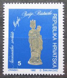 Poštovní známka Chorvatsko 1992 Madona, daòová Mi# 23