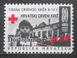 Poštovní známka Chorvatsko 1993 Èervený køíž, daòová Mi# 26