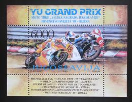 Poštovní známka Jugoslávie 1989 Grand Prix Mi# Block 34