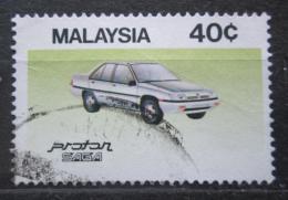 Poštovní známka Malajsie 1985 Automobil Proton Saga 1.3 S Mi# 309
