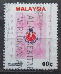 Poštovní známka Malajsie 1986 Malajské hry Mi# 328 Kat 3€