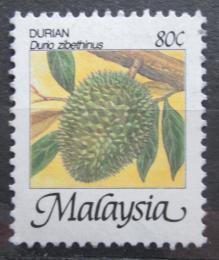 Poštovní známka Malajsie 1986 Durian cibetkový Mi# 332