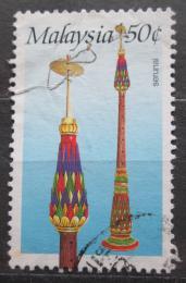 Poštovní známka Malajsie 1987 Hudební nástroj Serunai Mi# 353