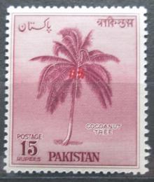 Poštovní známka Pákistán 1958 Kokosovník oøechoplodý Mi# 95 Kat 7.50€