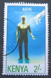 Poštovní známka Keòa 1992 Boj proti AIDS Mi# 541