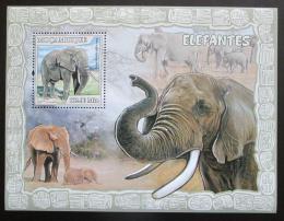 Poštovní známka Mosambik 2007 Sloni Mi# Block 228 Kat 10€