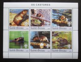 Poštovní známky Guinea-Bissau 2003 Bobøi Mi# 2470-75 Kat 11€