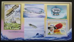 Poštovní známka Guinea 2006 Vzducholodì, Alberto Santos Dumont Mi# Block 1087
