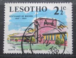 Poštovní známka Lesotho 1969 Nemocníce královny Alžbìty II. Mi# 67